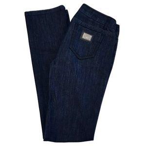 Dolce & Gabbana Dark Wash Flare Jeans